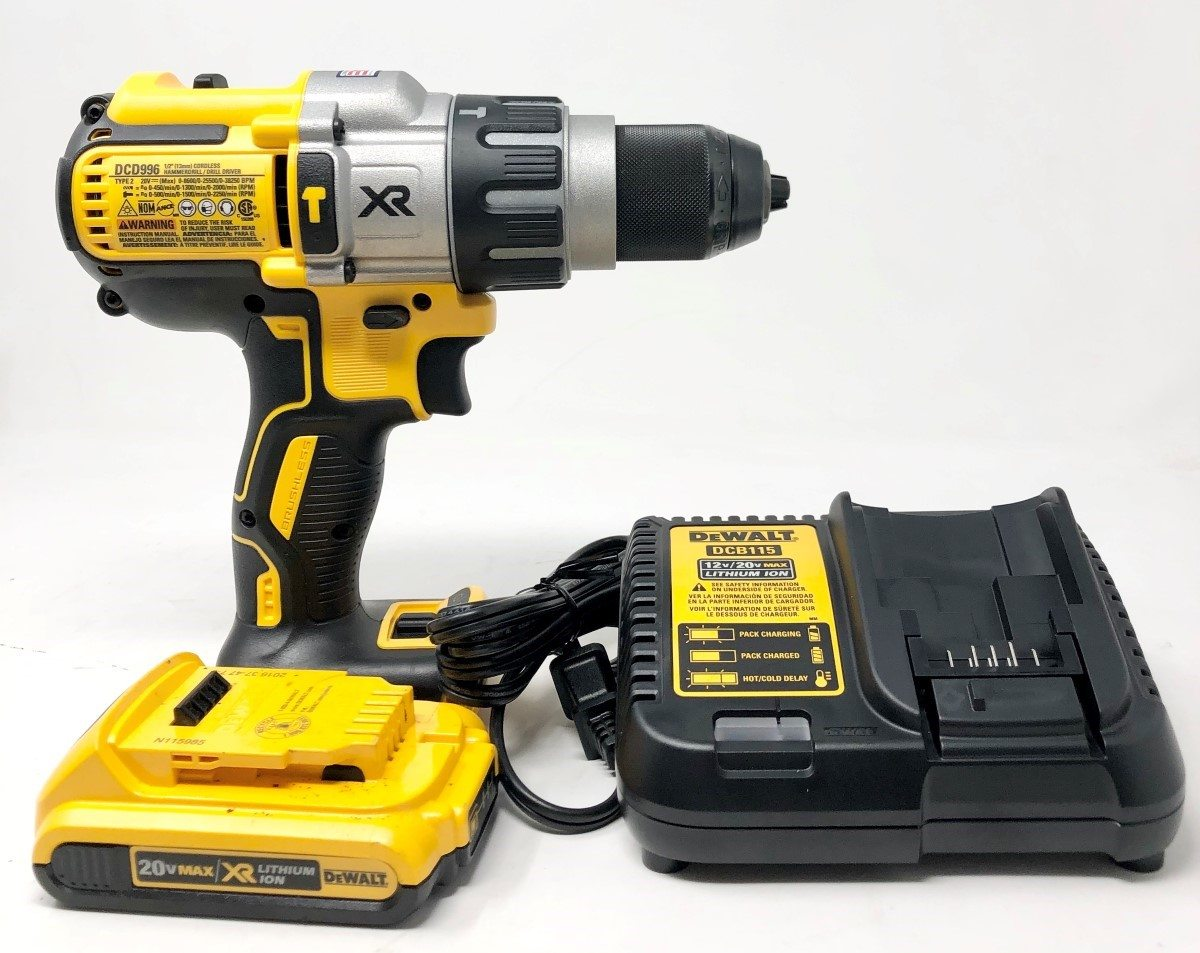 This is a DeWalt drill with charger